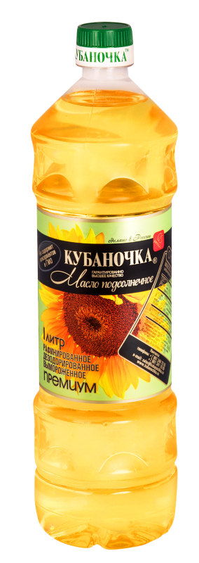 Масло    КУБАНОЧКА  раф. 1л